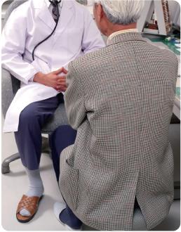 骨粗鬆症患者のイメージ